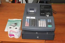 sharp xe a206. electronic cash register sharp xe-a206 includes manual \u0026 4 rolls thermal paper rm parking area sharp xe a206 r