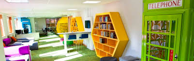 cool office spaces. Cool Office Design Ideas - Funky Collaborative Space Spaces