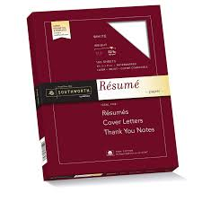 Amazon.com : Southworth RD18ICF 100% Cotton Resume Paper, 32lb, 8 1/2 x 11,  Ivory, Wove, 100 Sheets : Writing Paper : Office Products