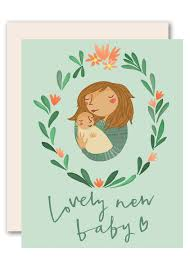 Baby Congratulations Card A Lovely New Baby Greeting Card