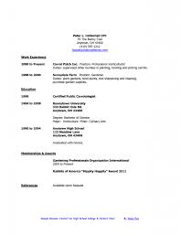 create resume for high school student resume and cover letter sample high school student resume no experience
