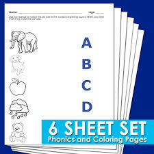 Students will also learn to use adjectives to describe physical phonics : Phonics Worksheets For Yeards Behavior Is Out Of Control Toddler Girls Zoo Disorder Jaimie Bleck