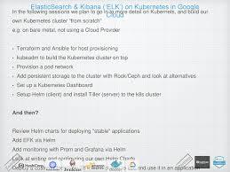 Elasticsearch Kibana Elk On Kubernetes In Google Cloud