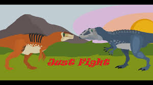 carcharodontosaurus size just fight acrocanthosaurus vs carcharodontosaurus youtube