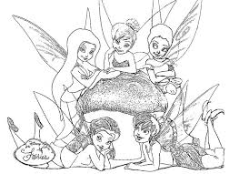 Stampa E Colora Gratis Le Disney Fairies Disegni Da Colorare E