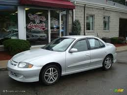 2004 Ultra Silver Metallic Chevrolet Cavalier LS Sport Sedan ...