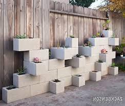 cinder block wall decorating ideas exterior midcentury with concrete block siding concrete block