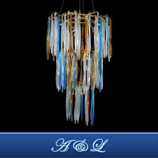 al high end nordic style entry lux crystal chandelier pendant lamp