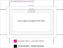 Standard Business Card Size New Designs Exclusively Of Template