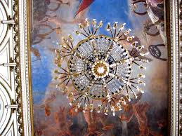 file chandelier from below with painting in cuba jpg