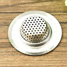 hair catcher for shower drain bath drain trap stainless steel bathtub hair catcher stopper shower drain hole filter trap metal sink strainer for bathtub