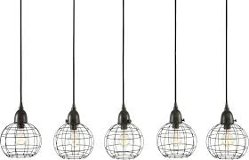 best multi pendant light fixture lazy five wire ball retro black ceiling multiple bulb hanging b
