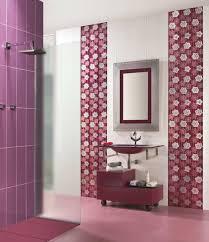 Tiles Frs bathroom Sergio dark red purple color combination