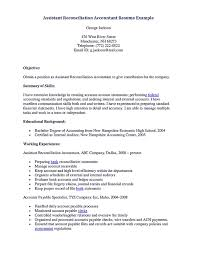 Assistant Reconciliation Accountant Resume resume for accounting assistant Whether or not accounting assistant 1