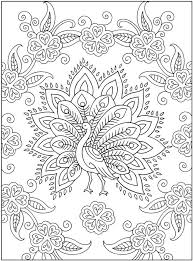 Mehndi Designs Coloring Pages Love