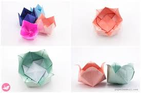 Origami Flower Paper Origami Flowers