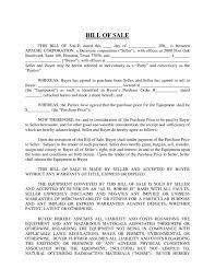 Equipment Bill Of Sale Delaware Free Download