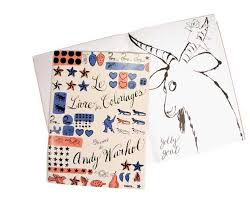 Small Picture Coloring Books by Warhol and Disney The Band From