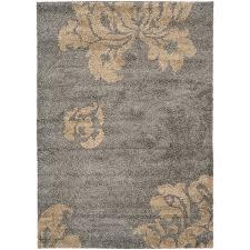 safavieh votive gray beige indoor tropical area rug common 8 x 10