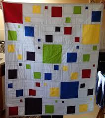 Modern squares quilt   Project Linus UK & Modern square quilt Adamdwight.com