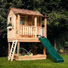 outdoor playset plans play diy wood pdf backyard free