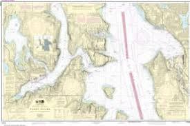 Seattle Depth Chart Oceangrafix Noaa Nautical Chart 18449 Puget Sound Seattle