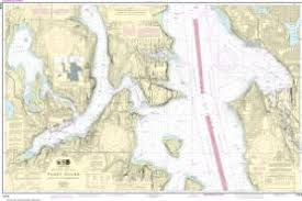Oceangrafix Noaa Nautical Chart 18449 Puget Sound Seattle