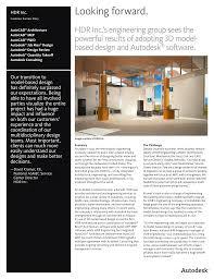 Multidisciplinary Design Firms Hdr Inc Autodesk Manualzz Com