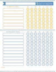 012 Daily Routine Calendar Template Ideas 960x1358 Wonderful