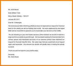sap appeal letter example appeal letter template for financial aid
