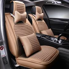 compare new 6d car seat cover universal seat cushion senior leather car pad