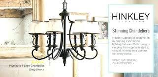 lighting chandelier hinkley casa