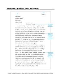 012 Mla Example Essay Thatsnotus