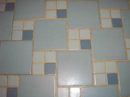 blue tiles bathroom. Replicating Alice39s Blue 50s Bathroom Tile Floor Retro Green Tiles