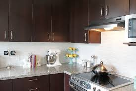 Our Carrara Marble Backsplash And Kitchen Tour Countertops Mosaic
