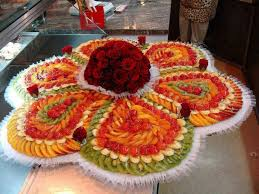 Decorated Fruit Trays FRUITS DECORATION УКРАШЕНИЕ БЛЮД Pinterest Fruit decorations 27