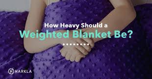 Gravity Blanket Weight Chart How Heavy Should A Weighted Blanket Be Harkla Blog
