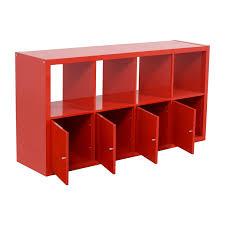 ikea storage furniture. IKEA Red Shelving With Storage Cabinets Discount Ikea Furniture