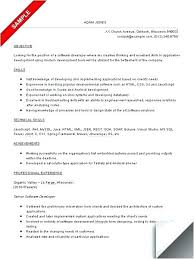 Resume Formatting Software Resume Sample For Software Engineer ...