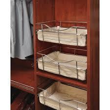 tan closet basket liner