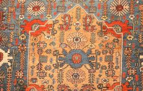 silk rugs have been present in history since ages