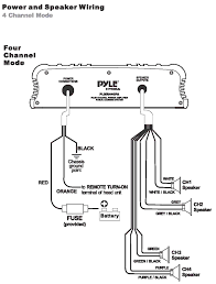 boat amplifier wiring diagram boat image wiring amazon com pyle plmr440pa 4 channel marine power amplifier public on boat amplifier wiring diagram