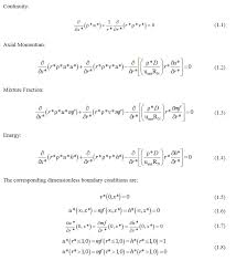 governing equations and the boundary conditions pde matlab parabolic pde advection diffusion