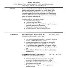 Sales Resume Skills | Template