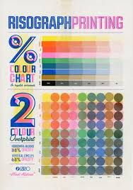 Printing Colour Chart Colour Chart In 2019 Graphic Design Print Lettering