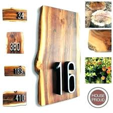 wood house numbers home depot tical house numbers plaque number signs by proud home depot address