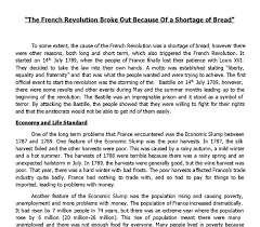 social causes of the french revolution essay causes of french revolution essay examples kibin