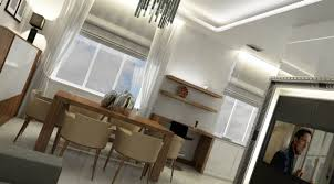 Wohnzimmer Esszimmer Küche 3d Visualisierung Und Design 3d