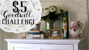 Small Picture 5 Goodwill Challenge Summer 2017 Vintage Home Decor on a Budget