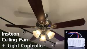 install review insteon ceiling fan light controller diy smart ceiling fan control smart remote solid state ceiling fan remote control